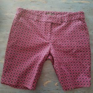 Willi Smith shorts sz 6 navy fuschia